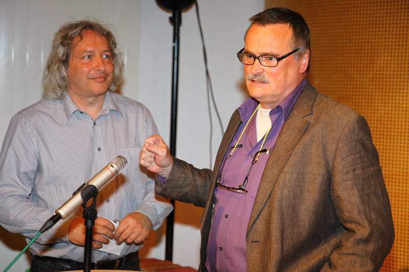 Günter Kowatschek und Harald Brachner