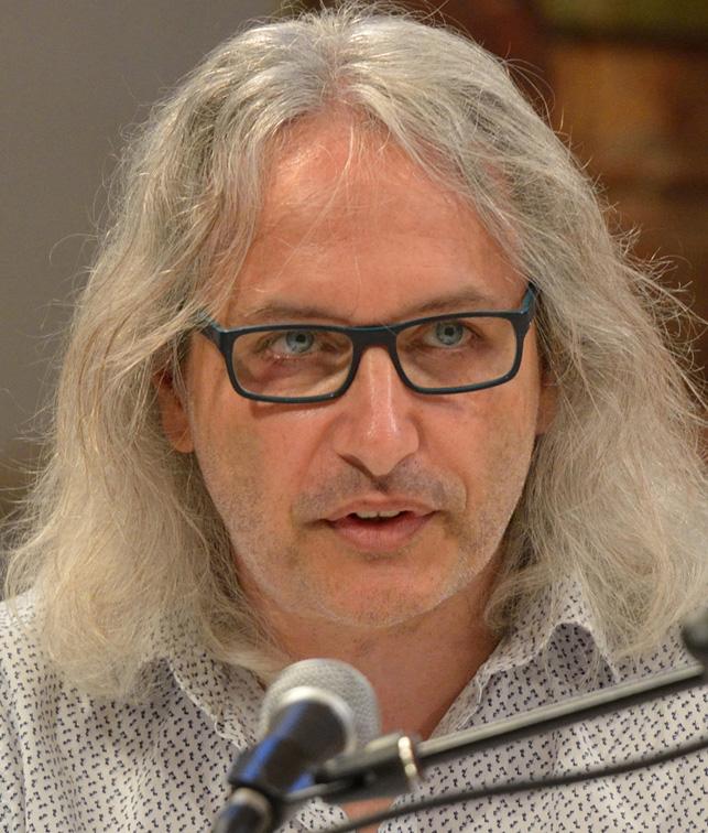 Günter Kowatschek liest beim OÖ Künstlerbund